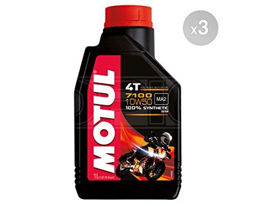 Olio Moto Motul 7100 4T 10W50-3x 1 lt