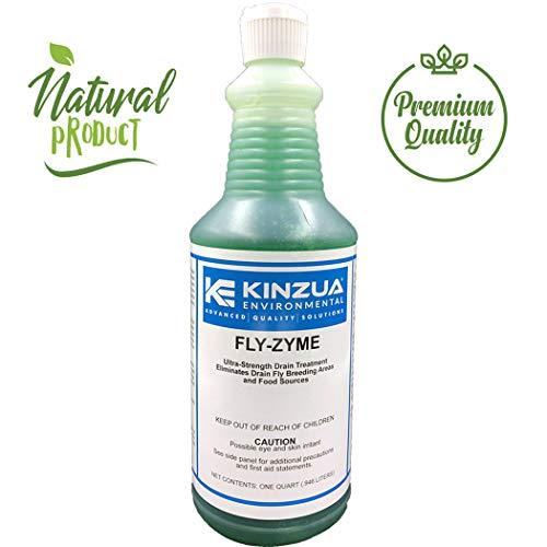 Fly-Zyme   Drain Fruit Fly Eliminator Gel   Natural Enzyme Formula   Prevents Drain Flies   High-Strength Enzyme Gel (32 oz)