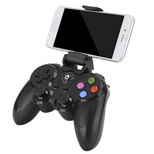 Controlador Juegos Inalámbrico, Joystick Repuesto Gamepad para PC Juego Teléfono Inteligente, Controlador Juegos Compatible con iOS/Android/ PS3/ PC/Laptop/TV Box