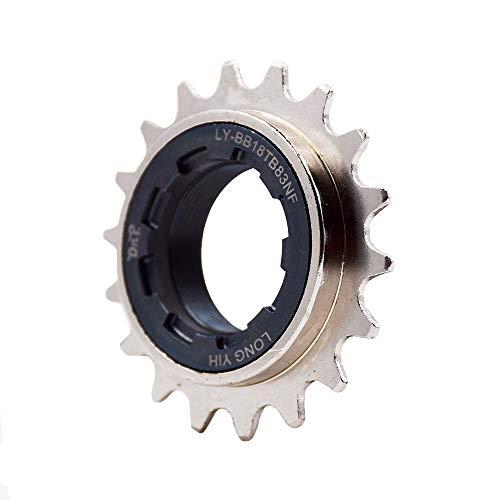 DRIFT MANIAC Single Speed Bicycle Freewheel 16T 17T 18T BMX Freewheel Sprocket 60 Clicks Nickel Teeth