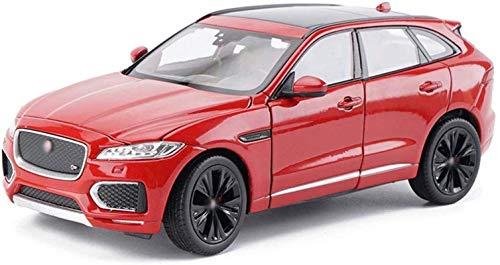 LKOER Modelo de automóvil 1,24 Simulación Aleación Die SUV Off-Road Toy Toy Car Series Joyería (Color: Azul) jinyang (Color : Red)