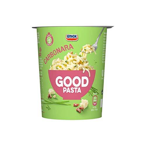 Instant Pasta Carbonara | Unox | Good Pasta Carbonara | Peso total 71 gramos