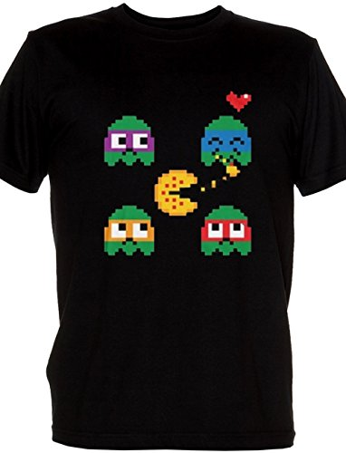 Pac-Man Ninja Turtles Mash-Up T-shirt for Kids, Ages 5 to 13 years