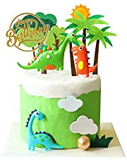 Dinosaur Cake Toppers Cupcake Topper Dinosaur Cake Decorations for kids Birthday Baby Shower Party Supplies 13PCS