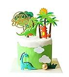 13pcs 3d dinosaur cake topper cupcake topper cake topper decorazioni per bambini compleanno baby showr forniture