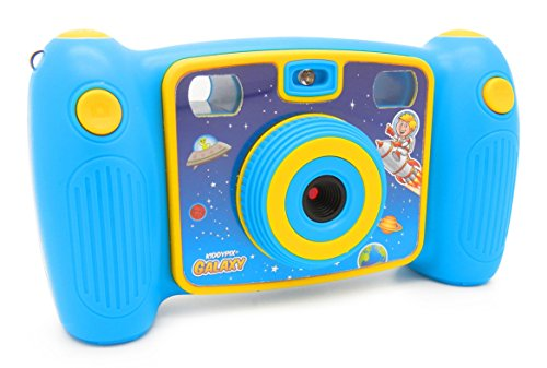 Easypix Kiddypix Galaxy Kinder Digitalkamera, blau