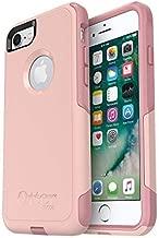 OtterBox COMMUTER SERIES Case for iPhone 8/7 (NOT PLUS) - Retail Packaging - BALLET WAY (PINK SALT/BLUSH)