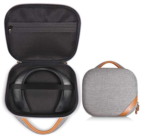 Protective Case for Bose Soundwear Companion Wireless Wearable Speaker by WGear, Featured Designed with Excellent Protection, Removable Mesh Pocket for Cable and Other accessorie (Gray)