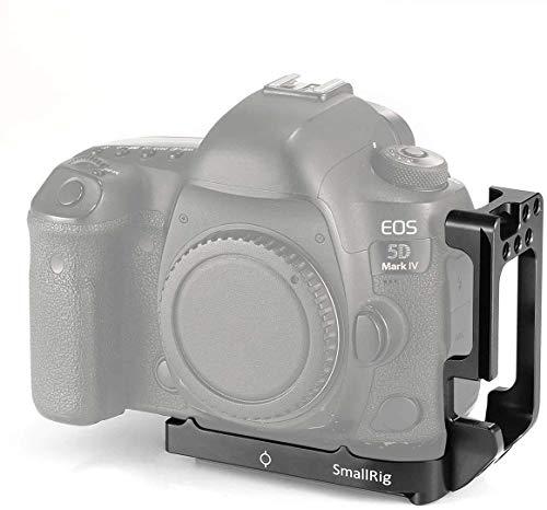 Compatibilidad: SMALLRIG L Bracket 2202 está diseñado para Canon 5D Mark IV y 5D Mark III