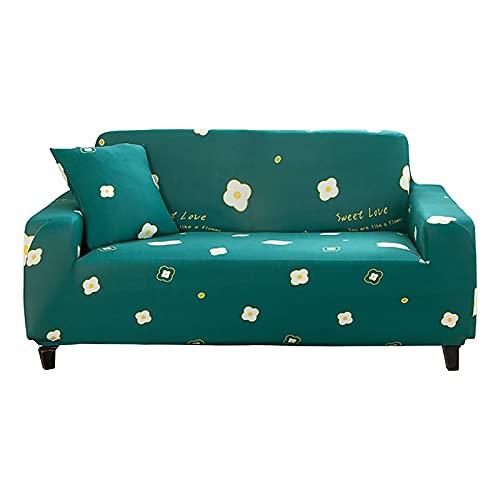 WXQY Funda de sofá elástica con Todo Incluido, Funda de sofá de Esquina en Forma de L para Sala de Estar, Funda de sillón Antideslizante Funda de sofá A2 2 plazas