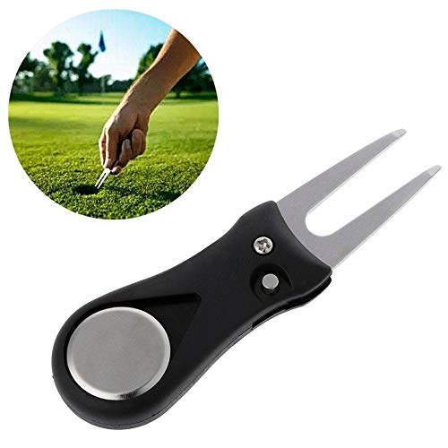 Find Cheap MAGT Golf Divot Tool Golf Ball Line Marker Tool,Golf Pitch Repair Divot Switchblade Too...