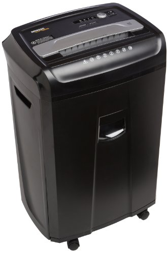 Why Choose AmazonBasics 24-Sheet Cross-Cut Paper, CD and Credit Card Home Office Shredder with Pullo...