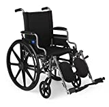 Medline - MDS806550E Lightweight & User-Friendly Wheelchair With...