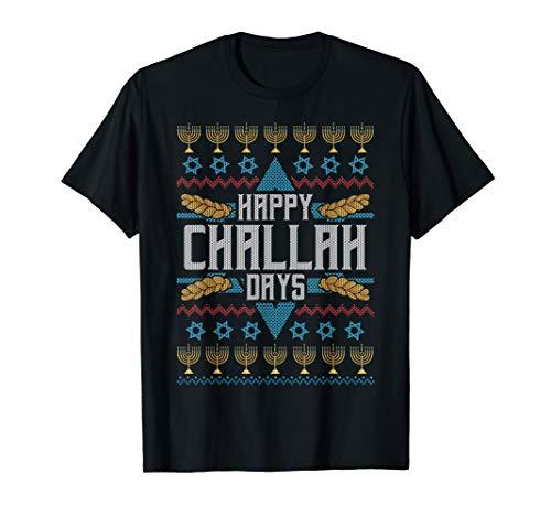 Funny Jewish Shirts CHALLAH BREAD Happy Challah Days T-Shirt