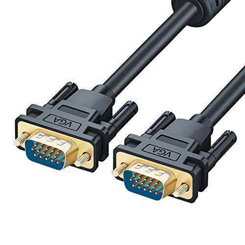 AKT Cable VGA Cable de Extensión Cable de Conexión PC TV Monitor,...