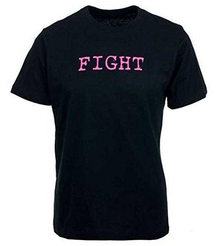 Susan G. Komen Men's Spanish Fight for Her T-Shirt, Black. KOMEMT0031
