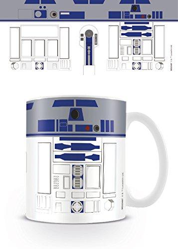 Star Wars Kaffeetassen, Keramik, Mehrfarbig, 8x11.5x9.5 cm