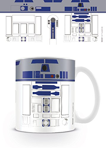 Star Wars MG23497 (R2-D2) Mug, Céramique, Multicolore, 11oz/315ml