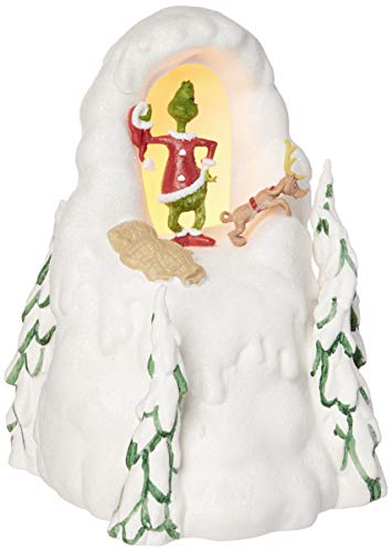 Department 56 Grinch Villages Mount Crumpet Lit House, 8.5 inch