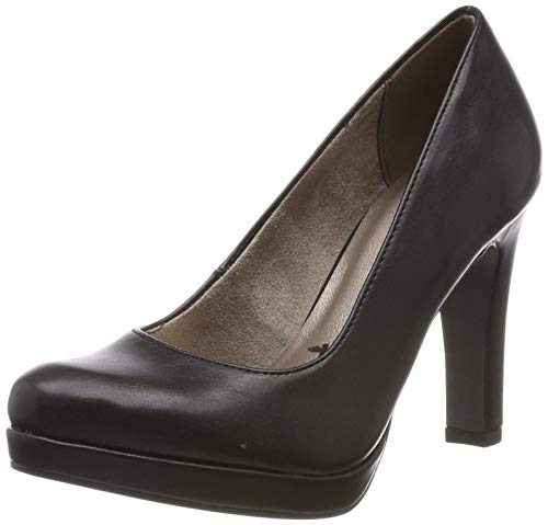 Tamaris Damen 1-1-22426-22 Pumps, Schwarz (Black MATT 20), 40 EU
