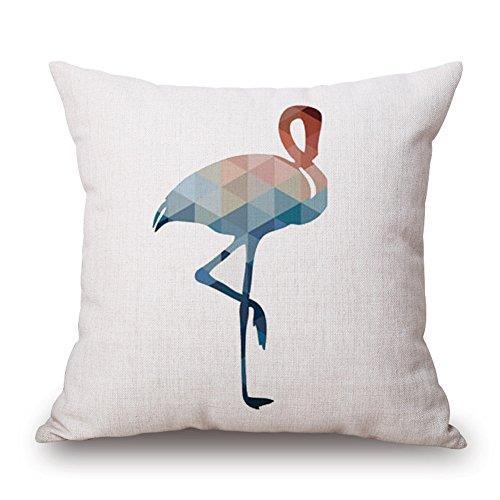 Happy Cool Decorpillow Modèle Animal Couvre-lit décoratif Taie d'oreiller Housse de coussin 45,7 x 45,7 cm, Motif 3, Cover + Brushed Insert