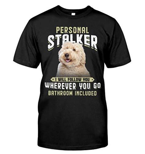 MAX Global Australian Labradoodle - Stalker Classic T-Shirt Black