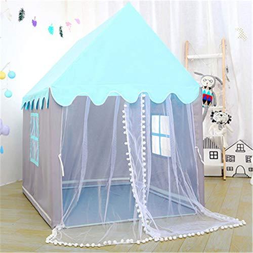Goodvk Tienda Infantil 1,45 M Tienda de niños portátiles Plegable Niños Tiendas Grandes Chicas Grandes Pink Princess Castle Decoración de la habitación del niño Regalos para Niños