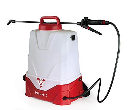 PULMIC Pulverizador eléctrico recargable de mochila Pegasus 15. 15L. 3 velocidades.Batería de litio extraíble. Hasta 7h de autonomía. Boquillas intercambiables. Tapón de vaciado