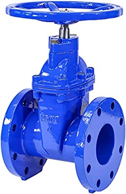 """IrrigationKing RKT4 4"""" Cast Iron Gate Valve with Rubber Wedge by IrrigationKing -"""