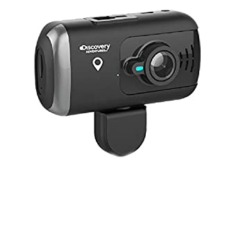 Discovery DS990 Dual Dash Camera with GPS Full HD 1080P Covert Mini Video Car DVR 170 Degree Super Wide Angle 6G Lens with G-Sensor WDR Night Vision Motion Detection 32 GB Capacity