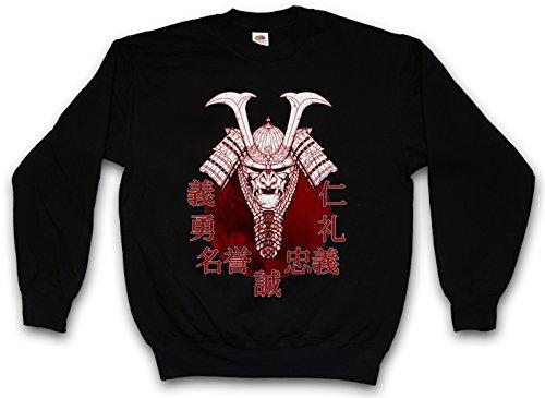 Urban Backwoods Bushido Samurai II Sweatshirt Pullover Schwarz Größe S
