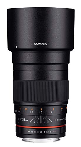 Samyang 135mm F2.0 Objektiv für Anschluss Nikon AE