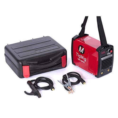 Soldador Inverter Tm 170 PVC Mma 160 Amp Electrodo Maleta en robusto PVC