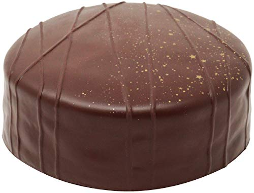 iBLOOM 'Slow Rising' [Squishy Collection] Sacher Torte [Jumbo Size] Chocolate Cake [Scented] Squishy Kids Cute Adorable Doll Stress Relief Toy Decorative Props, Dark Chocolate Brown