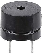 50 Uds 16ohm AC 2KHz zumbador electromagnético, zumbador de 3V 5V 9V 12V, zumbador electrónico tipo electromagnético, alarma de timbre