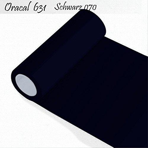 Orafol - Oracal 631 - 31cm Rolle - 5m (Laufmeter) - Schwarz / matt, A21oracal - 631 - 5m - 31cm - 01 - kl - Autofolie / Möbelfolie / Küchenfolie