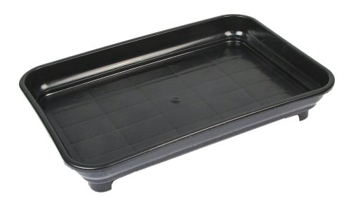Eve's Garden Bonsai Humidity Drip Tray 6' x 9' Overall Size 6' x 9' to fit a 4.5'x7.75' on The Bottom of Your Pot