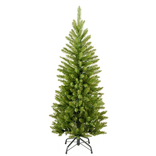 National Tree Company Artificial Christmas Tree | Includes Stand | Kingswood Fir Pencil - 4 ft