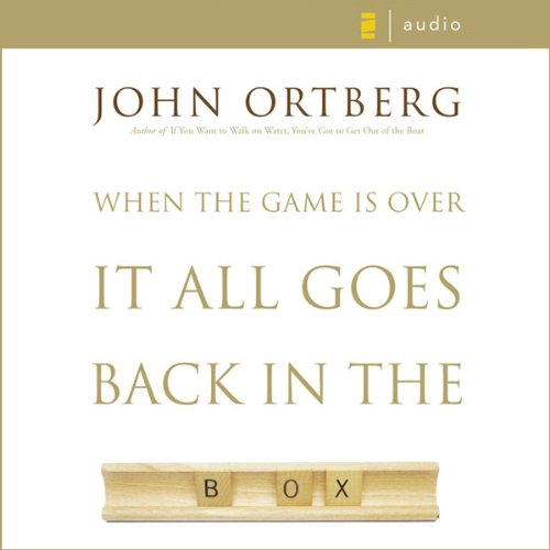 When the Game Is Over, It All Goes Back in the Box audiobook cover art