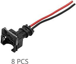 Sunlera 8PCS del inyector de Combustible Conector de cableado Tapones Clips de Recambio para el EV1 OBD1 coleta Corte/Empalme