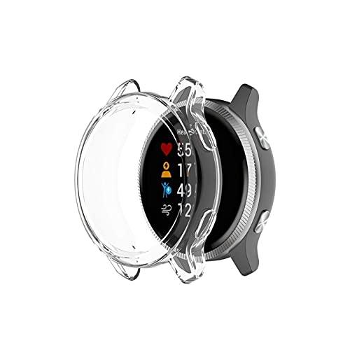 XUEXIU Caja De Reloj De Silicona Transparente para Garmin Venu Smart Wtach Reemplazo De Shell Protector para La Caja del Reloj Garmin Venu (Color : White)