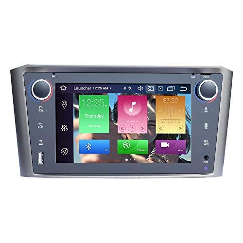 BOOYES Für Toyota Avensis T25 2002-2008 Android 10.0 Octa Core 4 GB RAM 64 GB ROM 7' Auto Unterstützung für Multimedia-GPS-Systeme Auto Auto Play/TPMS/OBD / 4G WiFi/DAB