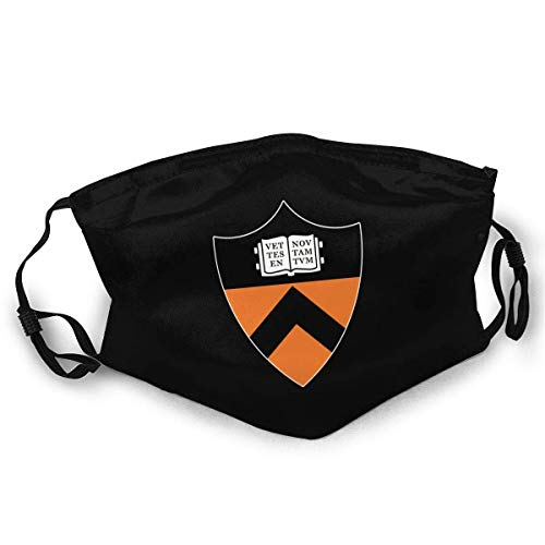 Princeton University Unisex Anti-Dust Face Mouth Mask Dust Mask for Camping Travel