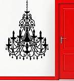 BailongXiao Abnehmbare dekorative Home Vinyl Applique kronleuchter Beleuchtung Wohnzimmer Dekoration...