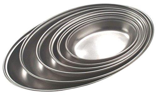 "Nextday Catering Equipment Supplies nev-1361fuente para verdura, acero inoxidable, Ovalado, 10\"""