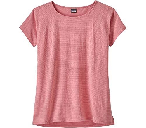 Preisvergleich Produktbild Patagonia Damen W's Trail Harbor Tee Hemd,  Rosa (Petra pink),  M