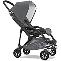 Bugaboo Bee5 Classic Complete Special-Edition Stroller (Black/Grey Melange)