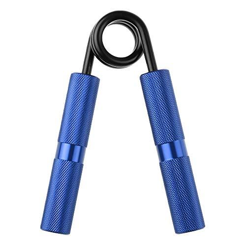 Milter Handtrainer Einstellbares 10-40KG Unterarmtrainer Heavy Grip Hand Gripper Krafttraining(100 lbs Black)