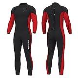 Hevto Wetsuits Men Guardian 3mm Neoprene Full Scuba Diving Suits...