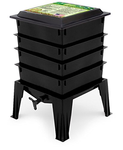Great Price! Worm Factory 360 WF360B Worm Composter, Black (Renewed)